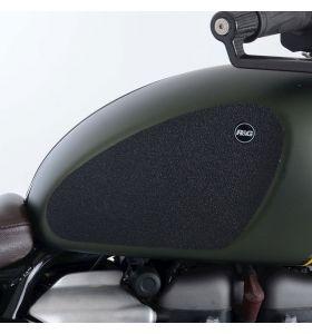 R&G EZRG818BL Eazi-Grip Sticker Set Zwart Triumph SCRAMBLER 1200 XC/XE 19- 2-GRIP KIT