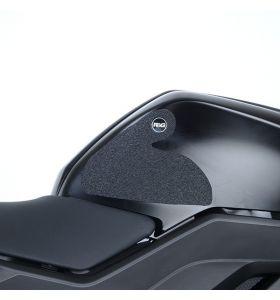 R&G EZRG932CL Eazi-Grip Sticker Set Transparant Yamaha YZF-R125 19- 2-GRIP KIT