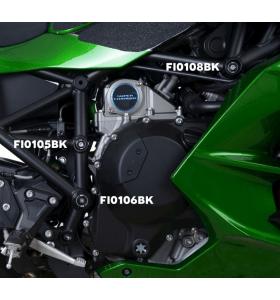 R&G FI0151BK Frame Plug  Zwart Kawasaki H2 SX 18-