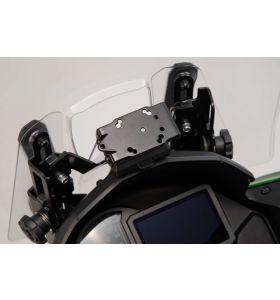 SW-Motech GPS Montageset Cockpit Kawasaki Versys 1000 (18-)