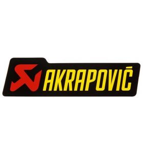 Akrapovic Sticker 120X35MM