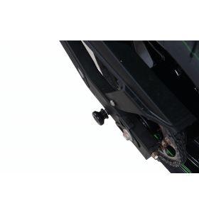 R&G CR0068BK Cotton Reels Bobbins Zwart Kawasaki (Niet voor OEM uitlaat geschikt)