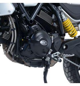 R&G KEC0128BK Motorblok Cover Set Ducati SCRAMBLER 1100 18- Mchanische koppeling (Paar)