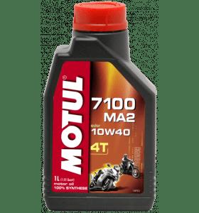 MOTUL 7100 10W40 Vol-Synthetisch 1L