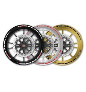 Barracuda Motorfiets Wheel Striping 17''