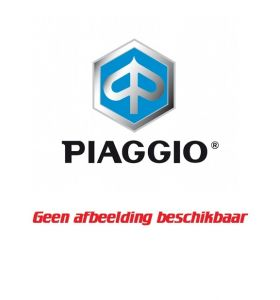 Piaggio Topkoffer Rugsteun 37 Liter Cali Zwart Met Roodgrijze Stiksels Medley 125