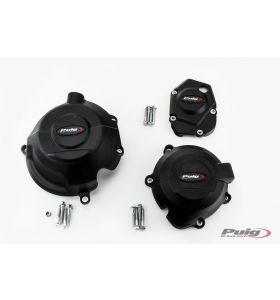 Puig Engine Cover Set 3-delig Kawasaki Z1000 (14-) / Z900 (17-)