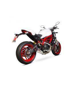 Scorpion Serket Taper Uitlaat RVS Ducati Monster 797 (17-19)