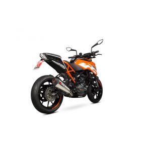 Scorpion Serket Taper Uitlaat RVS KTM Duke 125 (17-19)