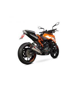 Scorpion Serket Taper Uitlaat Titanium KTM Duke 125 (17-19)
