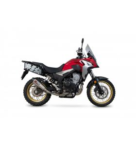 Scorpion Serket Taper Slip-On RVS Honda CB500 X (19-)