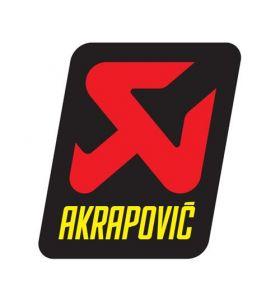 KTM Akrapovic Sticker 75x95 mm