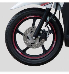 Suzuki Wielstriping Rood Adress 110 (17-)