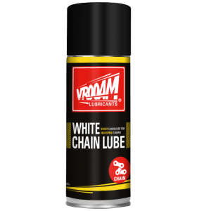 Vrooam Chain Lube White 400ml