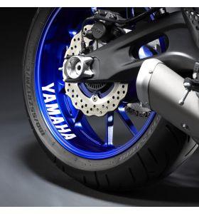 Yamaha Reflecterende Velgsticker Achterzijde Zilver
