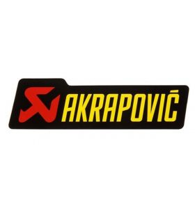 Akrapovic Sticker 150X44MM