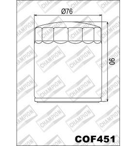 Champion Oliefilter COF451