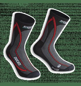 Ducati Cool Down Sokken Zwart