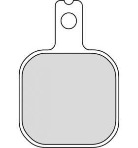 Ferodo Remblokken argento FRP415P
