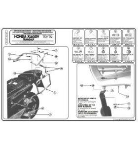 GIVI PL167 Zijkofferrek Monokey Honda XL650V Transalp (00-07)