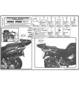 GIVI PL257 Zijkofferrek Monokey Honda VFR 800 (98-01)