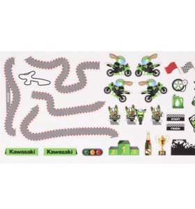 Kawasaki Muur Stickers Circuit