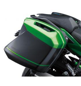 Kawasaki Zijkoffer Deco Stripe Kit 60R Emerald Blazed Green