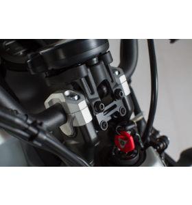 SW-Motech Stuurverhogers Zwart Yamaha XSR 700 (16-)
