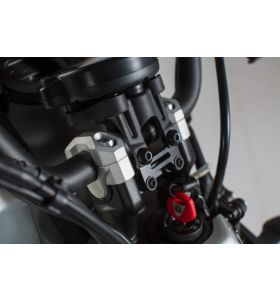 SW-Motech Stuurverhogers Zilver Yamaha XSR 700 (16-)