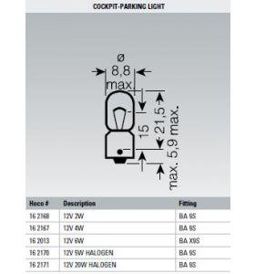 Osram Lamp 12V 6W