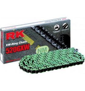 RK Ketting XW-Ring Groen NM520GXW 114
