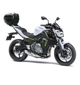 Kawasaki Topkoffer Cover 739 Metallic Flat Spark Black