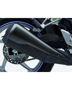 Honda Hitteschild Uitlaatdemper Carbon CBR 250 R (11-13)