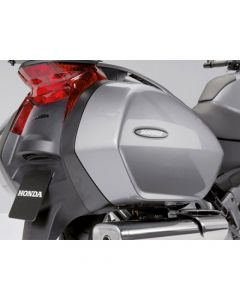Honda Grote kofferdeksels Set Spangle Silver Metallic NT 700 V Deauville (11-16)