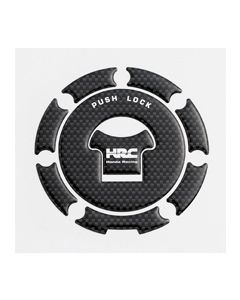 Honda Tankdop Sticker Carbon
