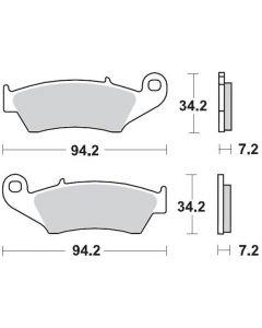 Moto-Master Remblokken Voor Carbon 093422