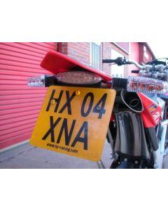 R&G LP0027BK Kentekenplaathouder Aprilia SXV450/550 (06-12)