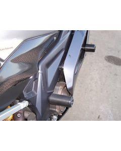 R&G CP0108BL Valdoppen Set Achter Zwart Aprilia RSV 1000 R/ Factory (04-)