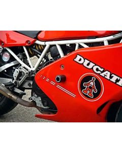 R&G CP0083BL Valdoppen Set Zwart Ducati 750/900SS 99-00