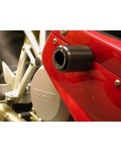 R&G CP0156BL Valdoppen Set Zwart Ducati ST4 (S) (01-05)