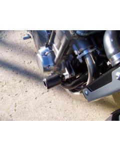 R&G CP0105BL Valdoppen Set Zwart Honda CB 1300 (S) (03-13)
