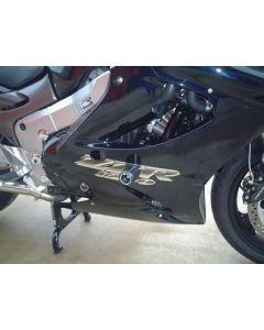R&G CP0113BL Valdoppen Set Zwart Kawasaki ZZR 1100/1200 (90-03)