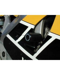 R&G CP0086BL Valdoppen Set Zwart Yamaha YZF 750 SP (93-94)