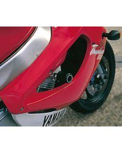 R&G CP0041BL Valdoppen Set Zwart Yamaha YZF 1000 R Thunder Ace (96-01)