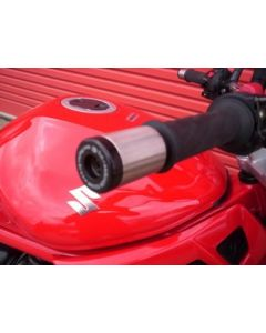 R&G BE0017BK Stuurdoppen Zwart Suzuki GSX1300R/GS500/GSF/DL1000