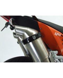 R&G CP0005BK Uitlaat Beschermer Ovaal SM Style