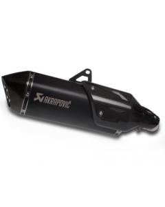 Akrapovic Slip-On Uitlaat Zwart Titanium Versys 1000