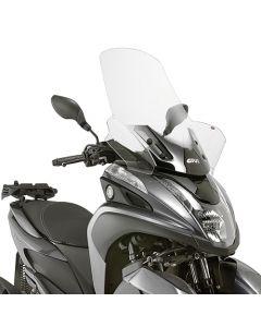 GIVI 2120DT Windscherm Transparant Yamaha Tricity 125 (14 -16)
