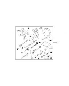 Honda Mistlamp Bevestigingsset GL 1800 Goldwing (12-14)