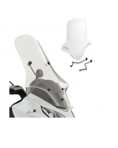 Piaggio Style Windscherm Kit MP3 300/500 LT (14-)